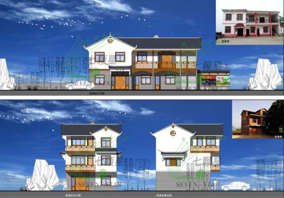 建筑立面改造图
