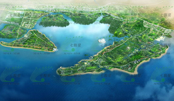 东兴国家重点开发开放试验区珍珠湾国际旅游区概念性