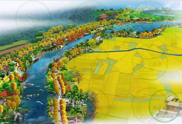 来宾市忻城县壮族土司风情旅游水街修建性详细规划