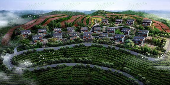 茶山瑶寨特色建筑设计