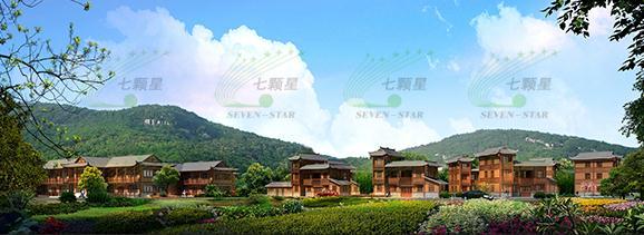 建筑设计 ●   江华瑶族自治县龙虎大峡谷特色建筑
